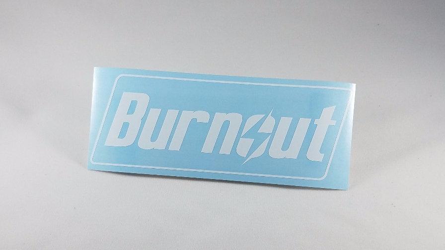 BURNOUT - Die Cut Decal