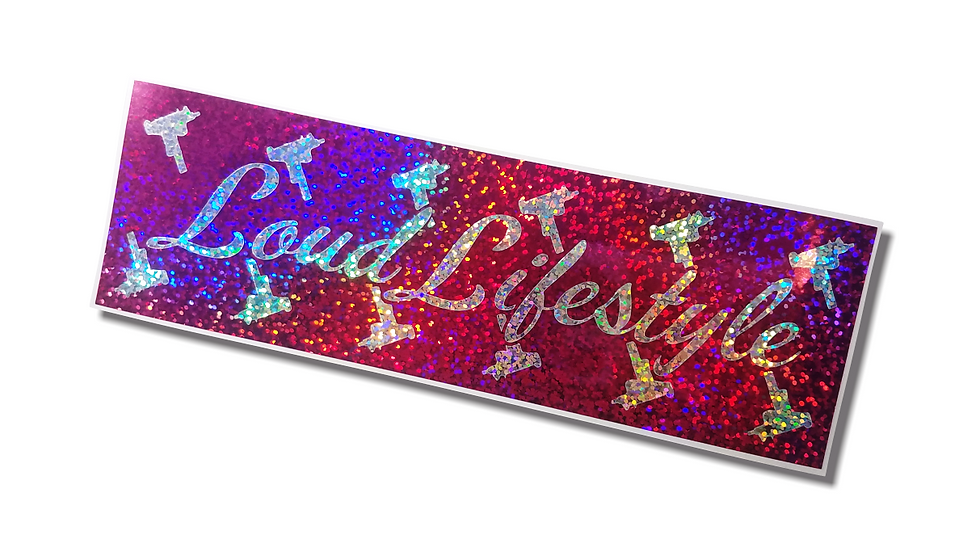 Loud Lifestyle V2 - Layered Slap Sticker