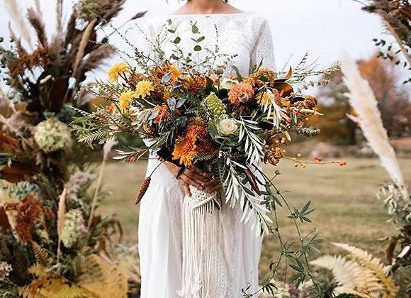 Macrame Bouquet Wrap