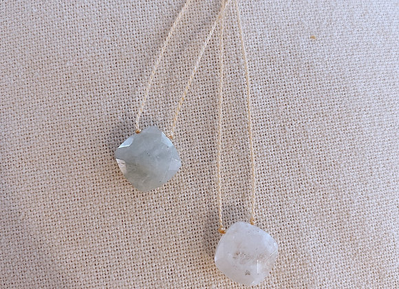 Adjustable Stone Necklace
