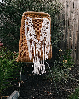 Macrame Chair Backers (Set of 2)