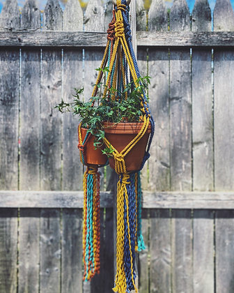 Multicolored Plant Hangers