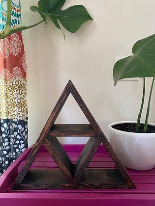 Reclaimed Triangle Shelf