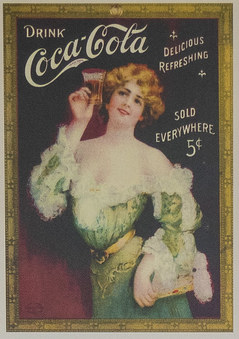 Coca Cola (Lady in Green)