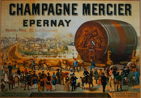 Champagne Mercier Epernay