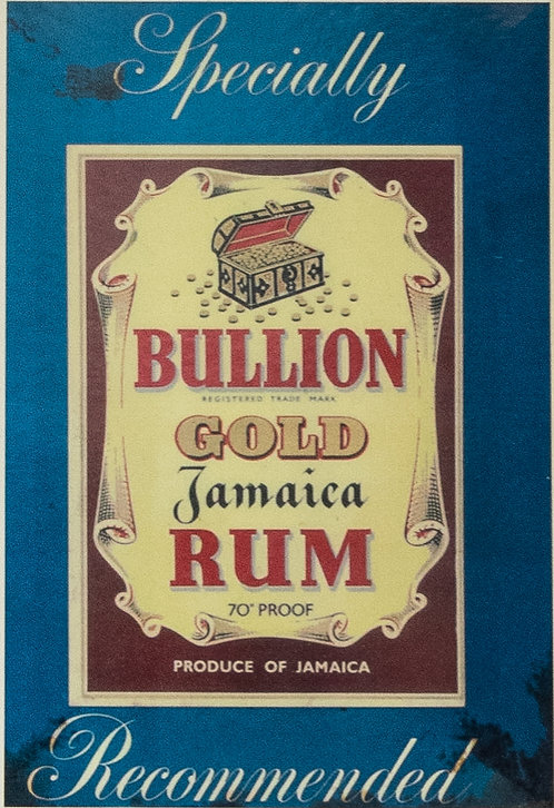 Bullion Gold Jamaica Rum