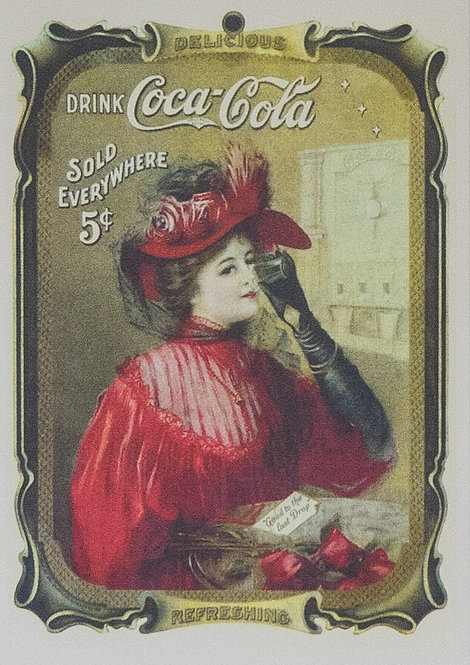 Coca Cola (Lady in Red)