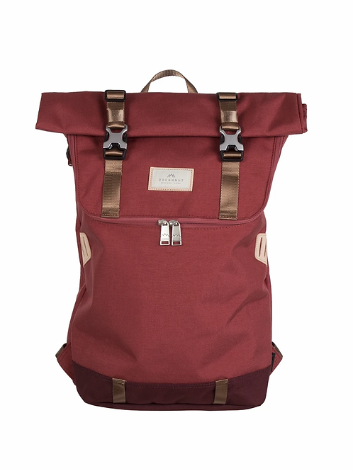 CHRISTOPHER ROLL-TOP BACKPACK BRICK
