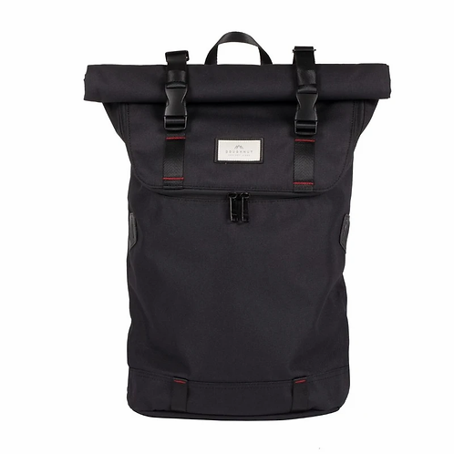 CHRISTOPHER NYLON ACCENTS SERIES BLACK X RED