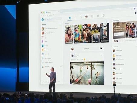 Facebook muda de cara, e Messenger vai integrar-se com Instagram e Whatsapp.