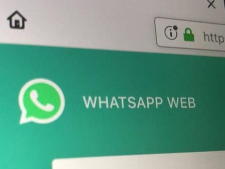 Sabia que pode saber se alguém o espiona pelo WhatsApp Web?