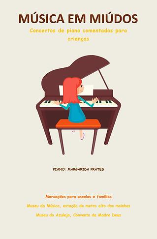Margarida Prates | Pianista | musica miudos