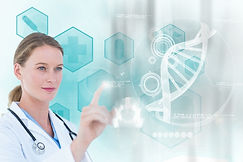 concentrated-doctor-working-with-virtual