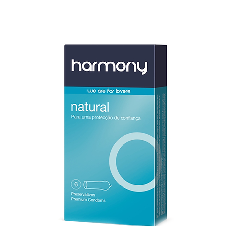 PRESERVATIVOS HARMONY NATURAL