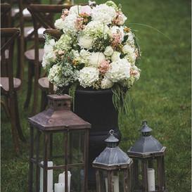 detalle boda civil de otoño
