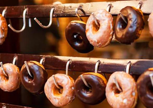 donuts caseros. Dulce siempre mejor.