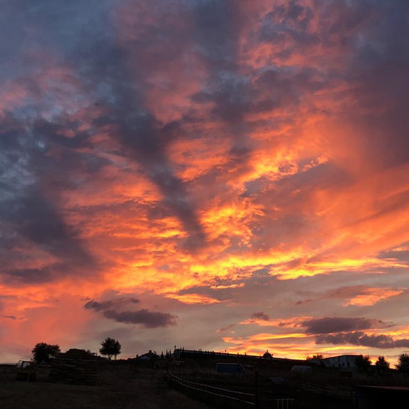 Nuestras puestas de sol son siempre igual de bonitas