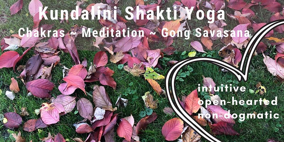 Virtual Kundalini Shakti Yoga with Dawn