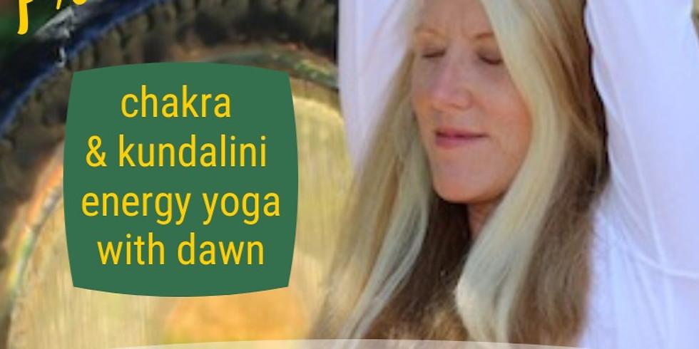 PranaVerdana Kundalini & Chakra Yoga with Dawn