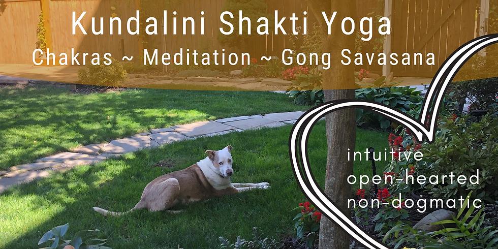 Kundalini Shakti Yoga with Dawn on Zoom