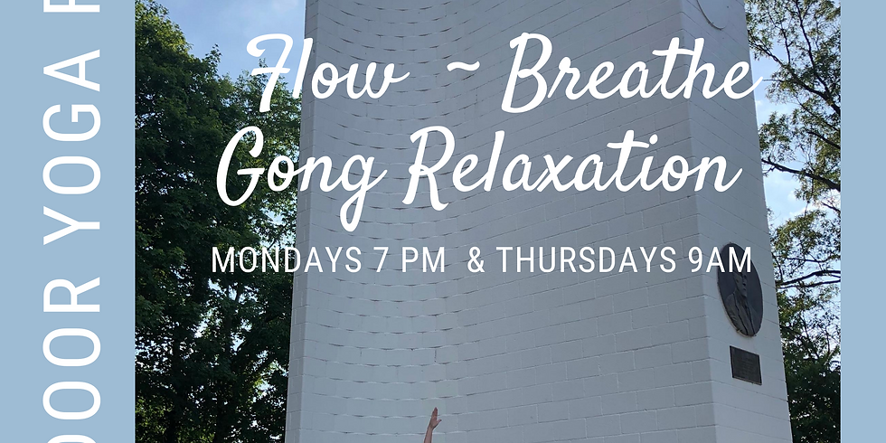 All Levels Flow with Gong Savasana & Meditation