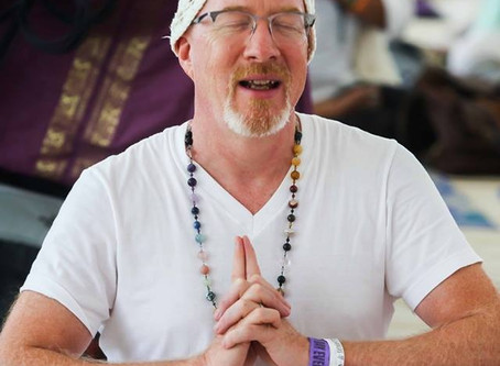 Immersed in Yoga from an Early Age ~    more about Mark