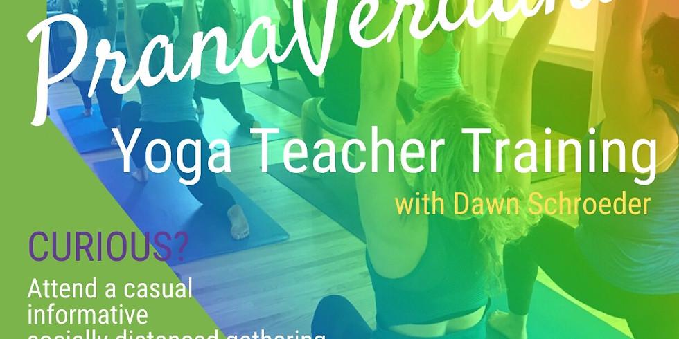 PranaVerdana Yoga Teacher Training Info Gathering