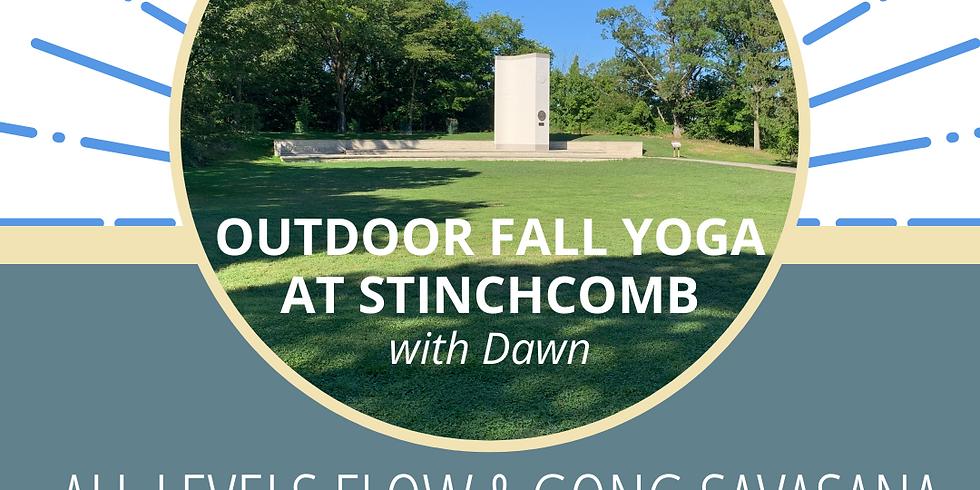 Outdoor Yoga Flow & Gong Savasana - New Time Thursdays