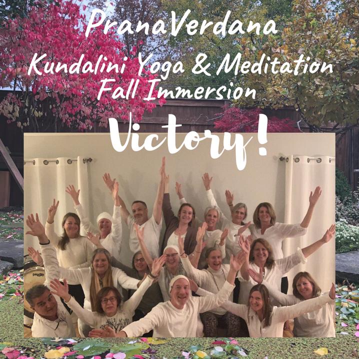PranaVerdana Fall Immersion 2019 Victory!