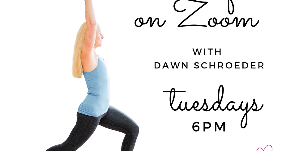 All Levels Flow Yoga on Zoom