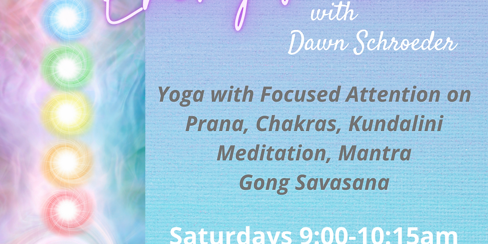 Energy Yoga & Gong with Dawn