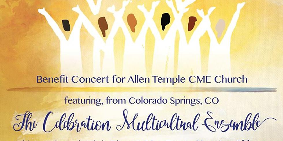 Benefit Concert For Allen Temple CME Church