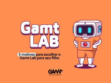 5 motivos para escolher o GAMT Lab para seu filho