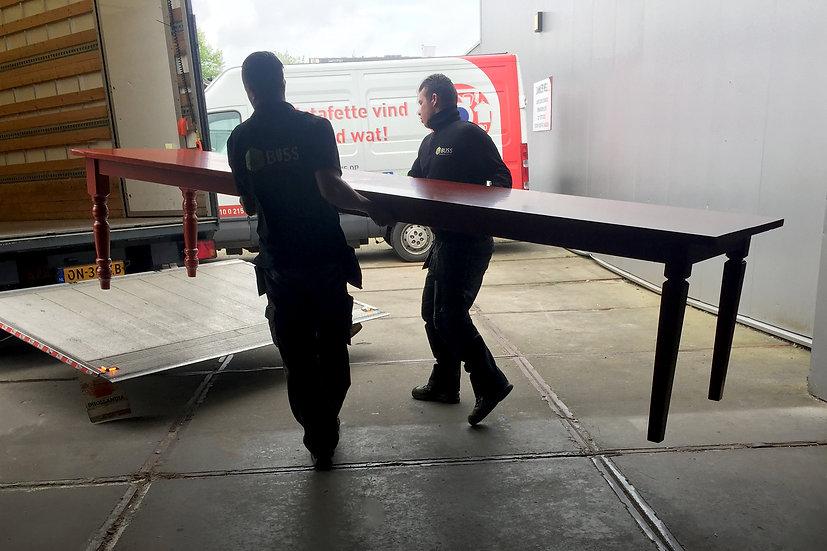 Siamese tweeling tafel, per 50 cm