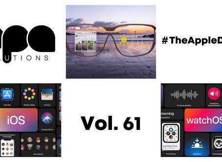 Първи бета версии на iOS 14 и iPadOS 14, Apple Glasses и още в #TheAppleDigest Vol. 61
