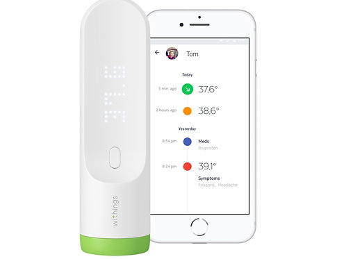 Nokia withings Thermo Smart Temporal Thermometer