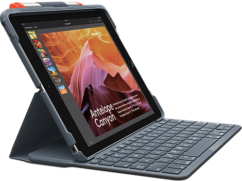 Logitech Slim Folio for iPad 6th and 5th Generations