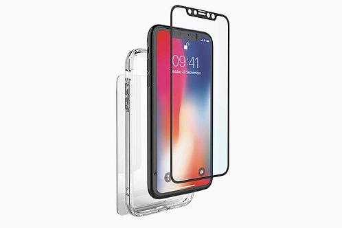 Cygnett Front/Back Glass Protection & Bumper Frame for iPhone XR