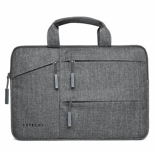 """SATECHI WATER-RESISTANT 15"""" LAPTOP CARRYING CASE WITH POCKETS"""
