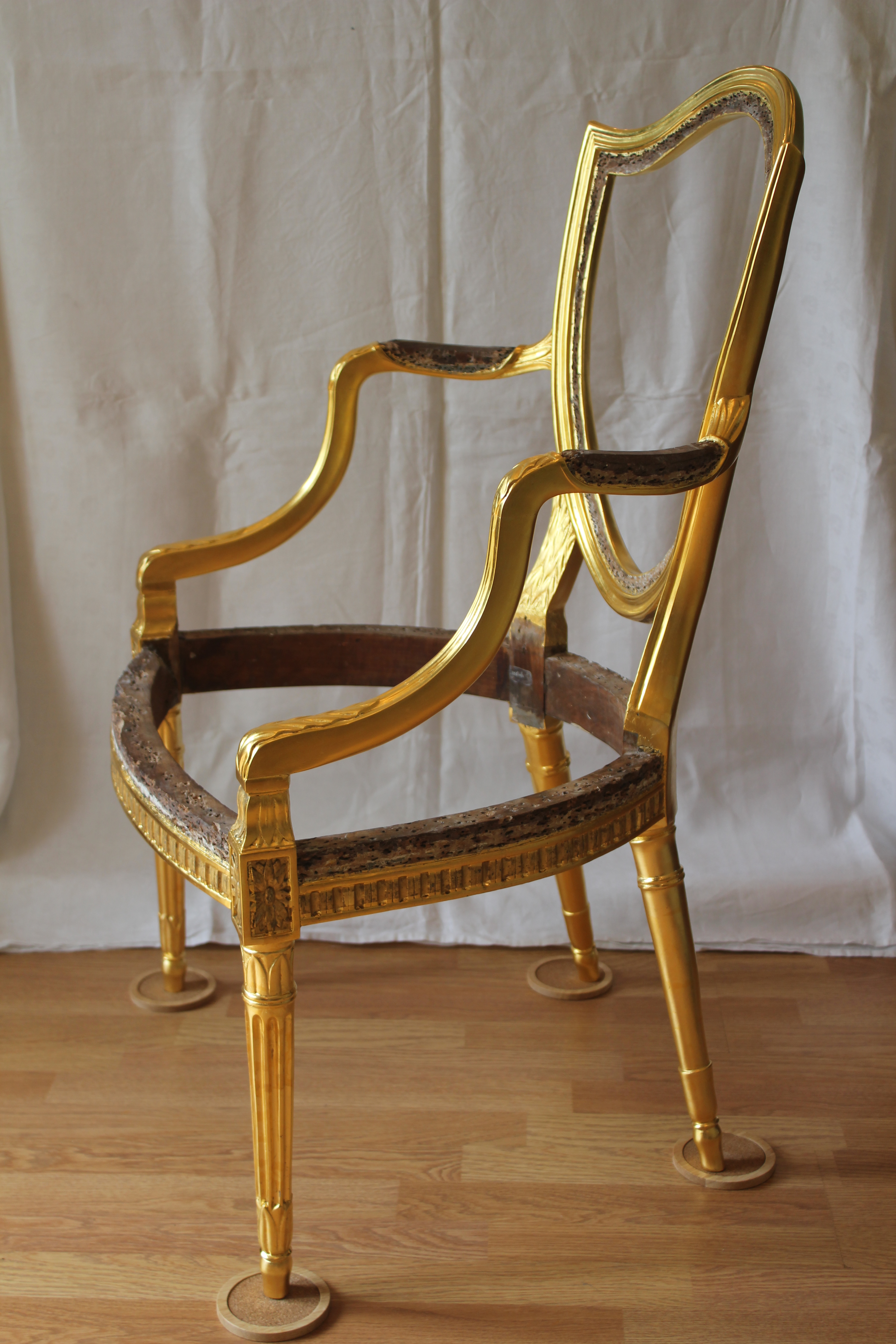 Gillows chairs from Weston Park