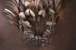Trophy Carvings, West Wycombe Church