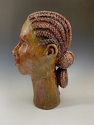 Woman with Long Neck