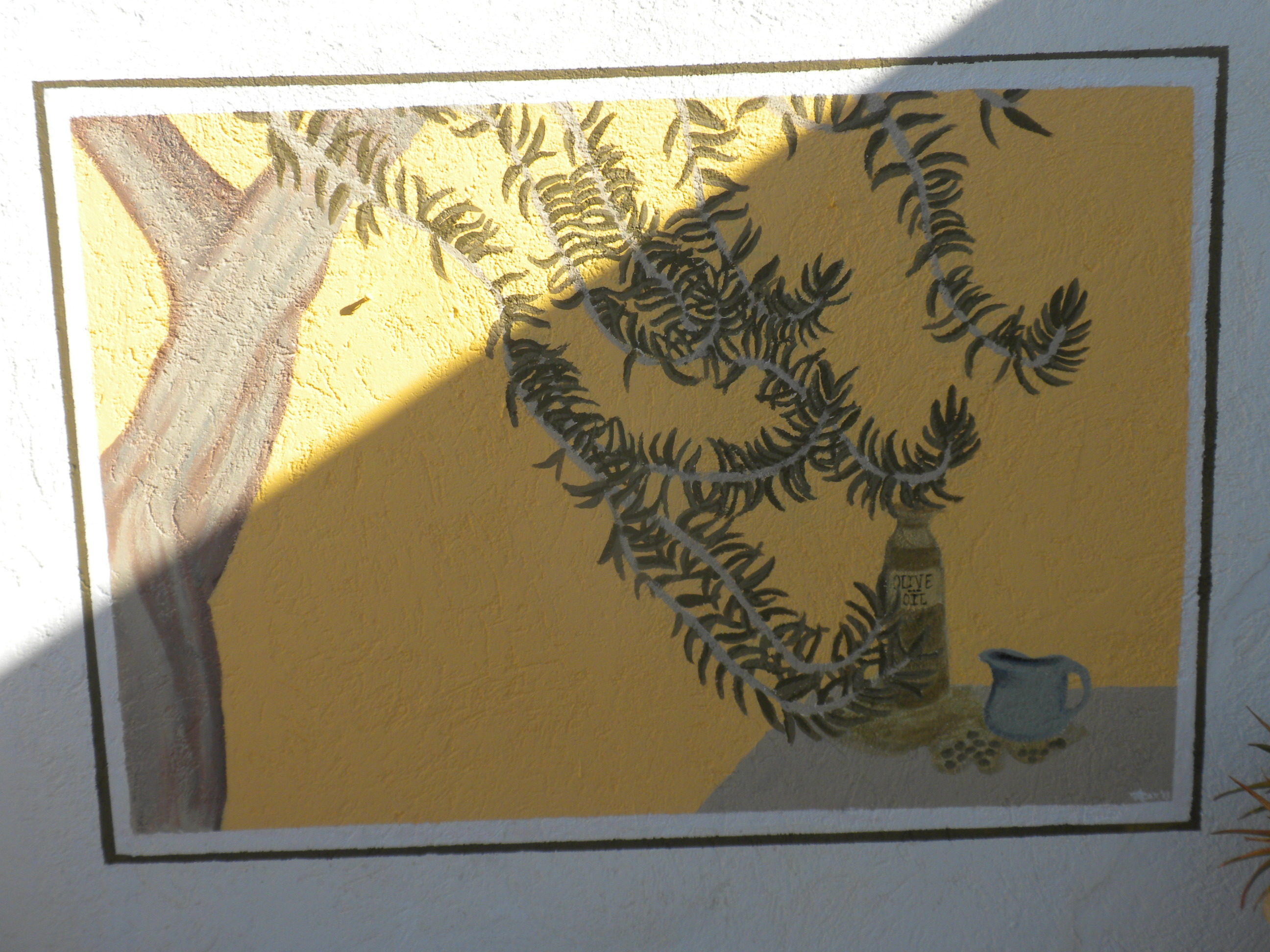 Olive Tree mural