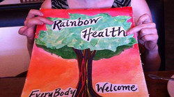 Tree design, Rainbow Health Center