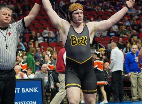Liddle smashes heavyweight division at state meet
