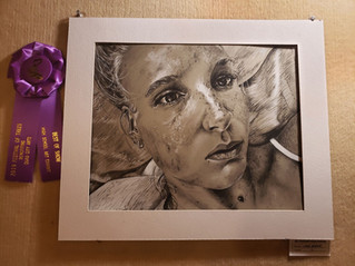 Lydia Bloome takes home two awards for artwork at Festival of Trees
