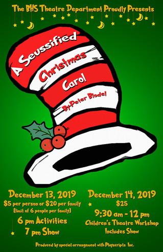 """A Seussified Christmas Carol"" set to premiere Dec. 13 and Dec. 14"