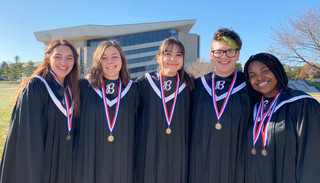 Six students, two alternates selected for All State Choir