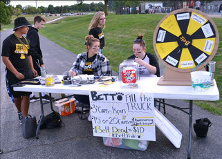 Bettendorf raises over $1,700 at PV for Fill the Truck
