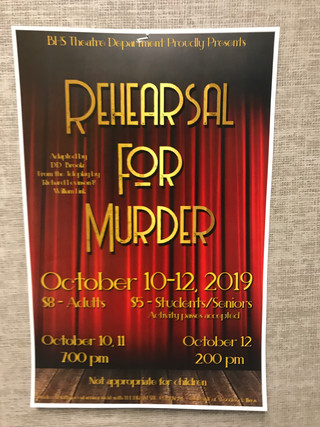 """Rehearsal For Murder"" set to premiere Oct. 10 through Oct. 12."